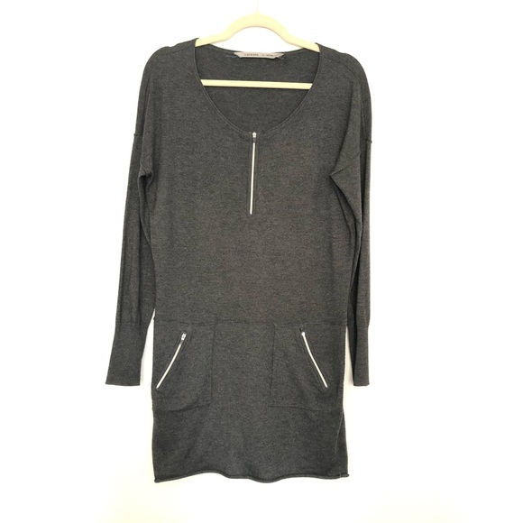 Athleta Dresses & Skirts - Athleta | Azalia Zip Dress Gray | XS